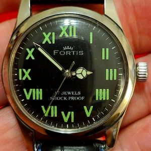 Gorgeous vintage Fortis Watch